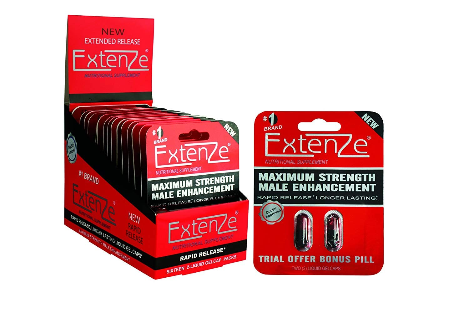 size specs  Extenze Male Enhancement Pills